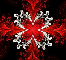 Red Elliptic Butterfly  by Beatriz  Cruz