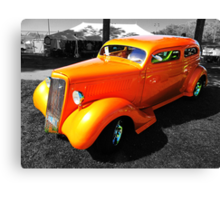Orange Coupe Canvas Print