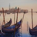 San Giorgio evening by Hugh Cross