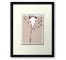 The 11th Doctor Framed Print