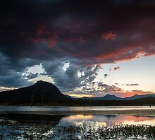 Lake Moogerah by D Byrne