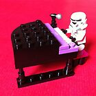Stormtrooper plays piano by jonasscorpio