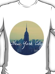 Empire State Circular T-Shirt