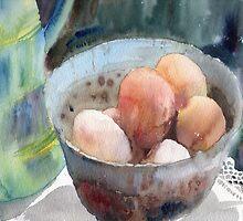 Eggs in a Bowl by Myra Gallicker