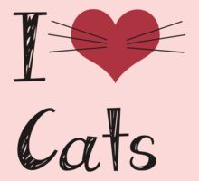 I Love Cats! by Phatcat