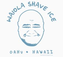 Hawaii 5-0 Waiola Shave Ice Logo (Sky) by Sharknose