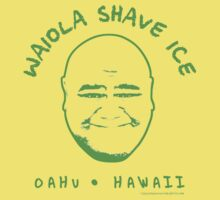 Hawaii 5-0 Waiola Shave Ice Logo (Green) by Sharknose