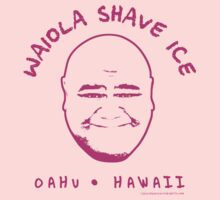 Hawaii 5-0 Waiola Shave Ice Logo (Magenta) by Sharknose