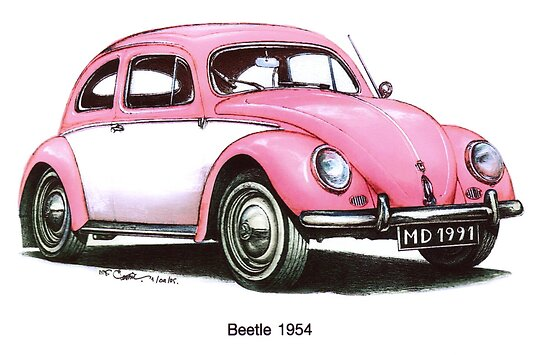 1954 Volkswagon Beetle by mrclassic