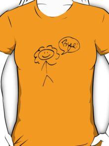 River Song- Bye! (dark outline) T-Shirt