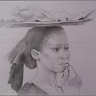 African Young Vendor by Noel78