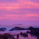 Lavendar Sunset - 2 by Paul Dean
