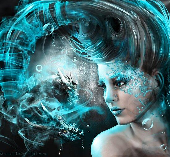 Dark fantasy by Amalia Iuliana Chitulescu