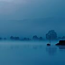 Blue mornings II by César Torres