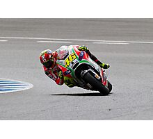 Valentino Rossi in Jerez 2012 Photographic Print
