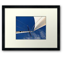 Looking up... Framed Print