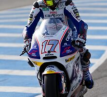 Karel Abraham  in Jerez 2012 by corsefoto