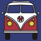 Volkswagon Campervan by gemzi-ox