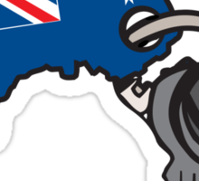Keys to Australia  Sticker