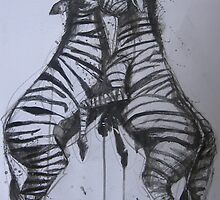 ZEBRAS by BrigitteHintner