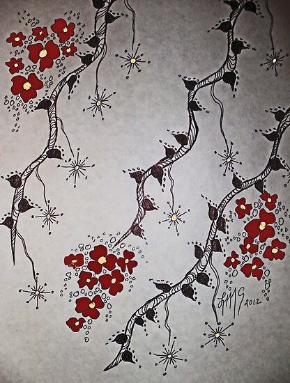Ink Blossoms... by linmarie
