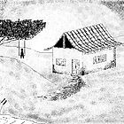 House with tree and waggle... by afonso