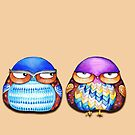 Grumpy Birds by Annya Kai