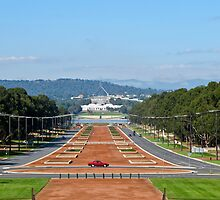 anzac parade by Anne Scantlebury