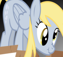 Derpy Hooves breaking out Sticker