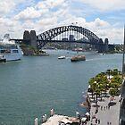 Sydney Harbour Bridge II by PaperRosePhoto