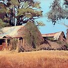 Overgrown Ruins of Tintinhull Inn, Moonbi, NSW, Australia. (2011) by Martin Lomé