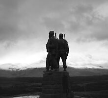Commando Memorial Spean Bridge by albyw