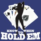 Poker know when to hold em by personalized