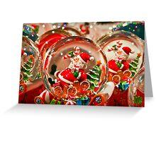 Christmas Parade Greeting Card