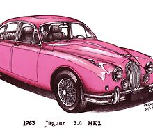 1963 Jajuar MK2 Car by mrclassic