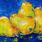 Four Plump Pears  by KAT Griffin