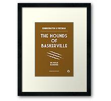 BBC Sherlock - The Hounds of Baskerville Minimalist Framed Print