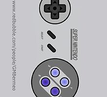 Snes Controller/Gamepad model#2 by Guilherme Bermêo