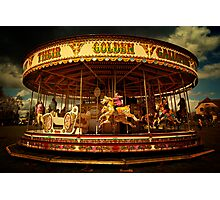 Golden Gallop Photographic Print