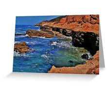 The Pacific Seashore Greeting Card