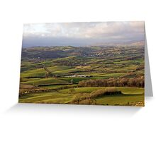 View From Scout Scar (View 3 of 3) Greeting Card