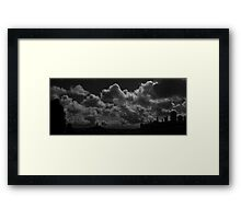 Clouds SF-Style Framed Print