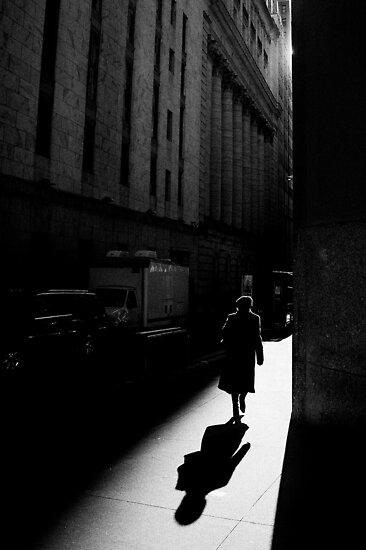 The Wall Street, New York City by Ilker Goksen