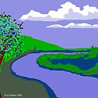 River Landscape by Fred Jinkins