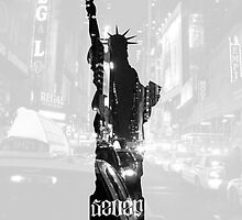 u7 Statue of Liberty White by youseven