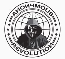 Anonymous Revolution Kids Clothes