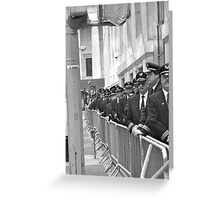 pilot protest new york Greeting Card
