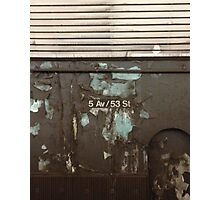5th and 53rd Photographic Print