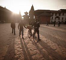 Durbar Square, Bhaktapur, Nepal by EveW