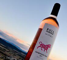 Bull Paddock Wines Sangiovese Rose by Georgina James